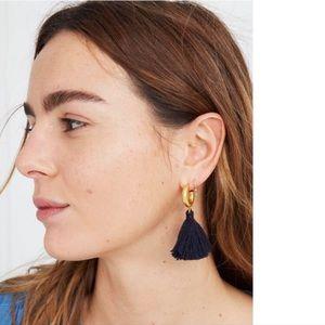 Madewell Lantern Tassel Earrings